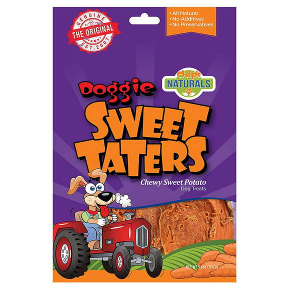 Doggie Sweet Taters Treat (5.06oz, 15.7oz Bag)