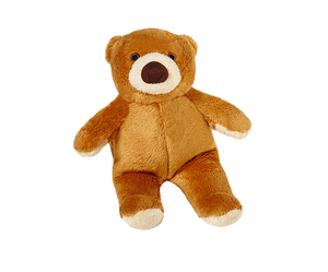 Fluff & Tuff Cubby Bear Dog Toy
