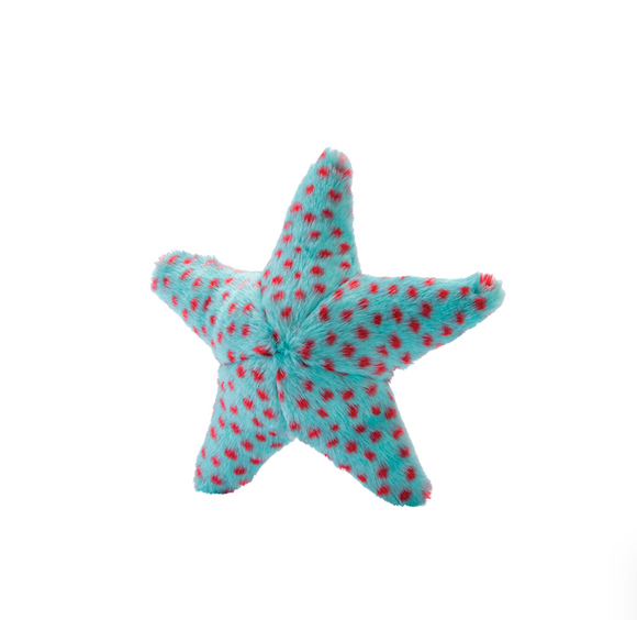 Fluff & Tuff Ally The Starfish Dog Toy