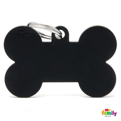 BLACK XL ALUMINUM BONE