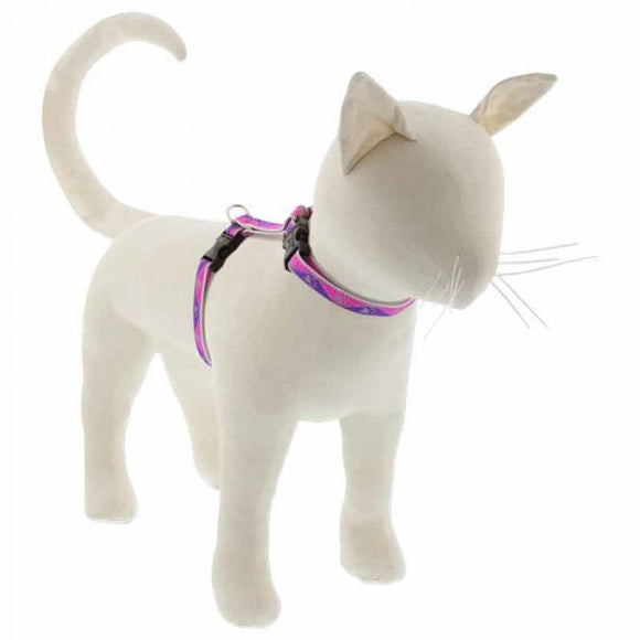 Pink Paws Cat harness