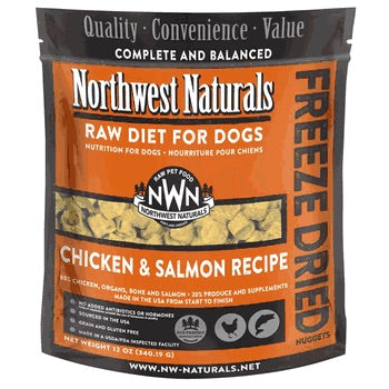 Chicken Salmon Freeze Dried