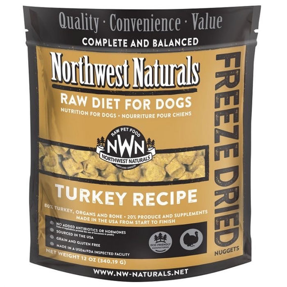 Turkey Recipe Freeze Dried Raw