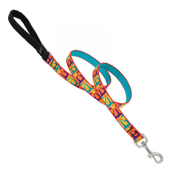 Lupine Crazy Daisy Leash 6'