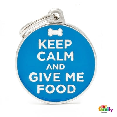 Keep Calm Give Food Circle