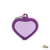 PURPLE HEART ALU PURPLE RUBBER