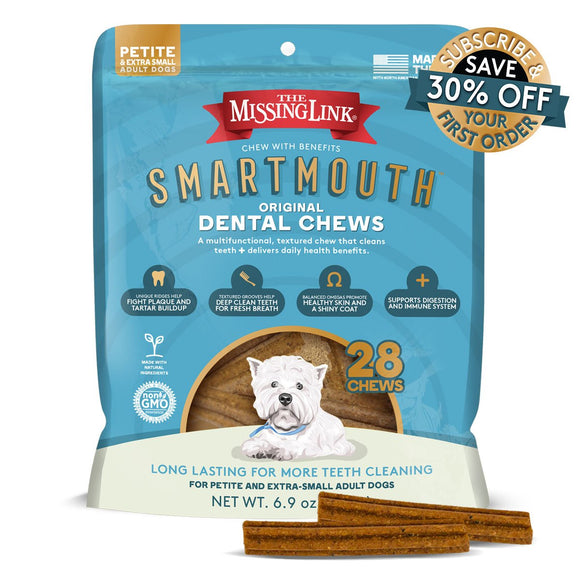 Smartmouth Dental Chew Pet/XS