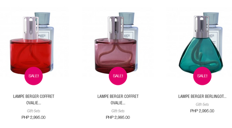 Lampe Berger Giftsets