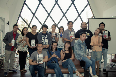 Lampe Berger held Bloggers' Conference in Cebu