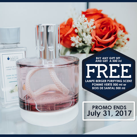 Buy Any Lampe Berger Item and Get a Free Lampe Berger Purifying Scent