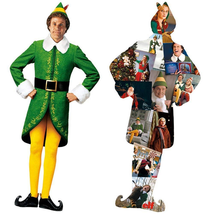 Buddy and Movie Collage 600pc Puzzle From Elf the Movie