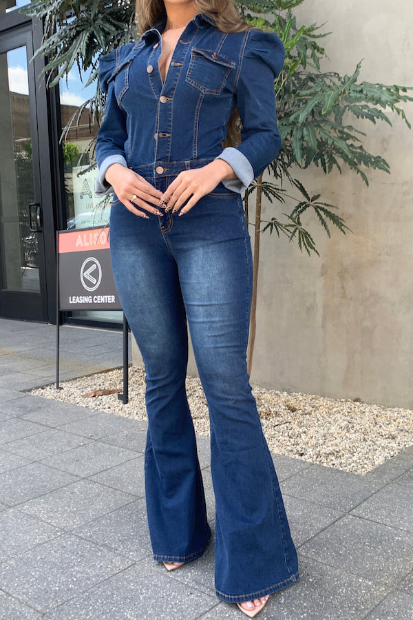 Royal Denim Jumpsuit Dark Denim