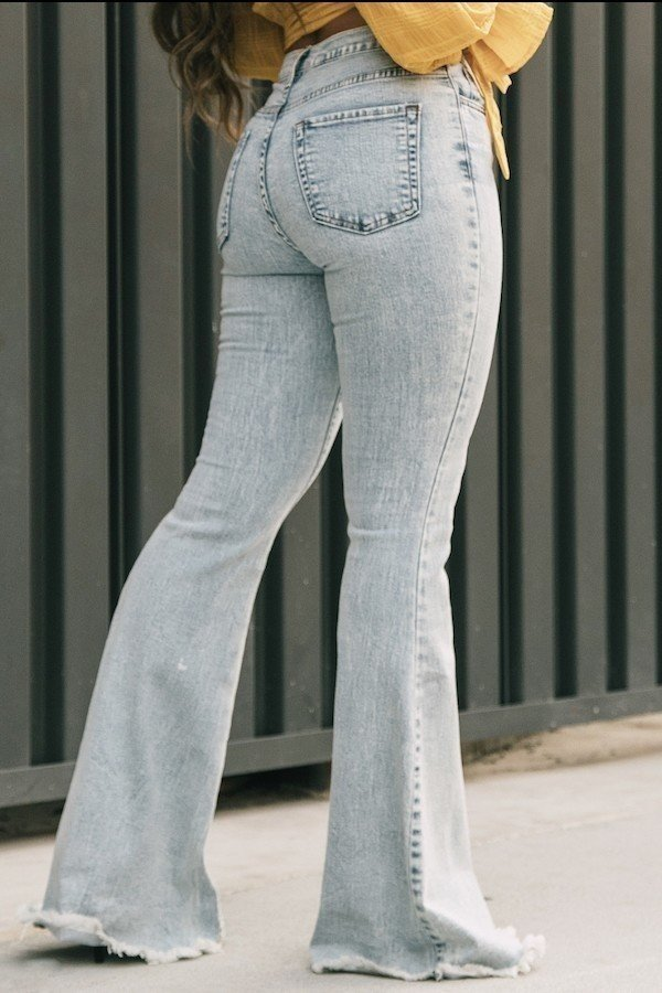 Mesh High Rise Skinny Jean in White