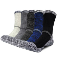 Winter Men Socks Thicken Thermal Wool Pile Cashmere Snow Socks Climbing Hiking Sport Seamless Boots Floor Sleeping Socks For Men