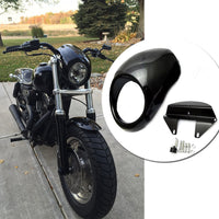 For Harley Sportster Dyna XL 883 XL 1200 XL883 XL1200 Motorcycle Headlight Mask Fairing Bezel Front Cowl Visor Fork Accessories