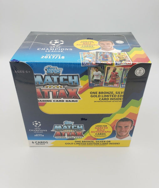 17/18 Topps UEFA Champions League Match Attax Hobby Box