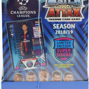 18/19 Topps UEFA Champions League Match Attax Hobby Box
