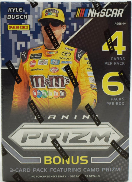 2018 Panini Prizm Racing Blaster Box