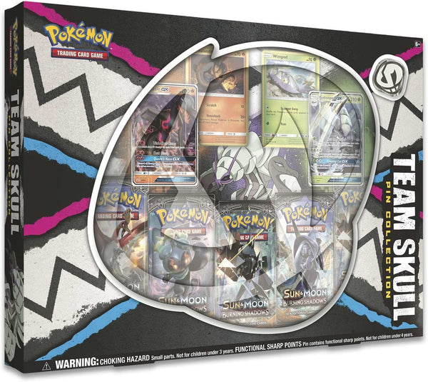 Pokemon Box Set - Team Skull Pin Collection
