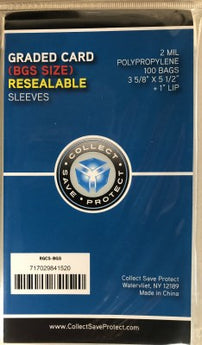 Graded Reseal 3 5/8 Bag - 100 CT (BGS)