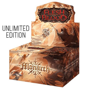 Flesh and Blood: Monarch Unlimited Booster (Qtys To Be Confirmed)