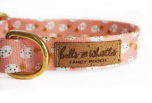 "Load image into Gallery viewer, ""Pineapples and Blush"" Collar"