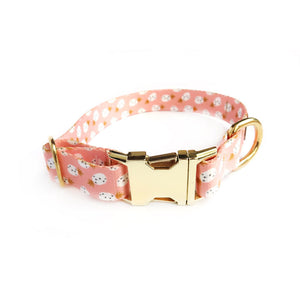 """Pineapples and Blush"" Collar"