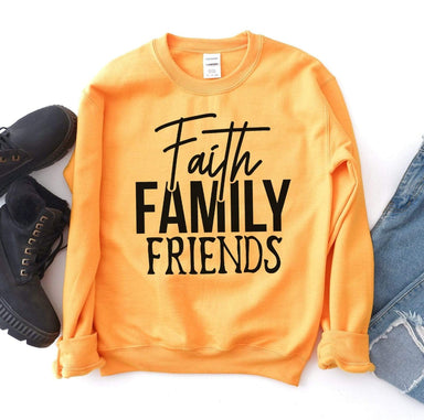 Agate Sweaters & Hoodies Faith Family Friends Sweatshirt