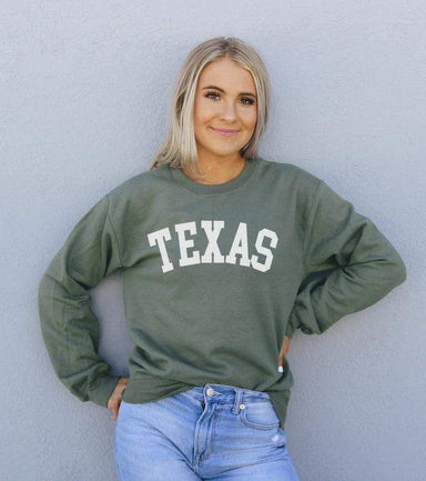 Agate Sweaters & Hoodies Texas Sweatshirt