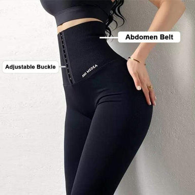 Agracei Trends Slimming Pants Women Sports Legging Waist Trainer Lift Up Butt Lifter Shapewear Tummy Control Panties Winter Trouser