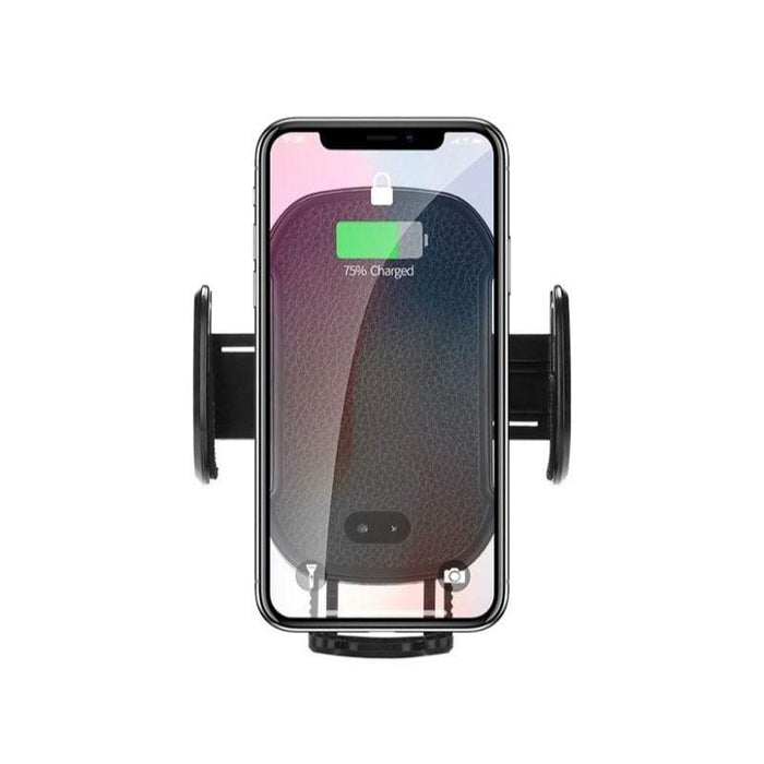MerchMixer Cell and Tablet Accessories Wireless Qi Charging Smartphone Car Mount with Auto Open and Close