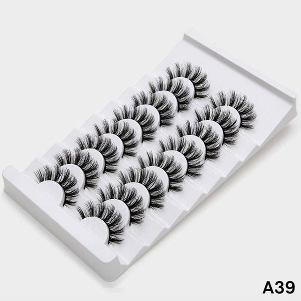Sexysheep 5 8 Pairs 3d Mink Lashes Beautilly