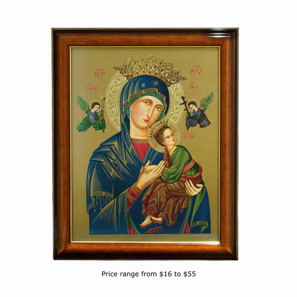 OUR MOTHER OF PERPETUAL HELP FRAMED PICTURE