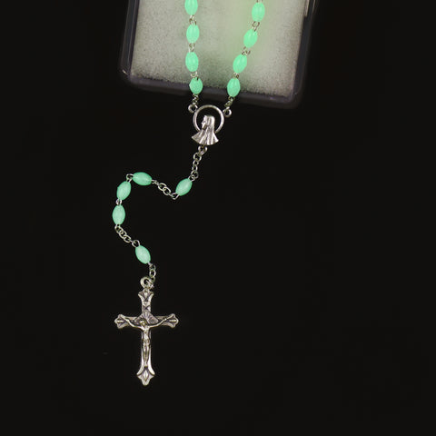 GLOW-IN-THE-DARK ROSARY (4mm)