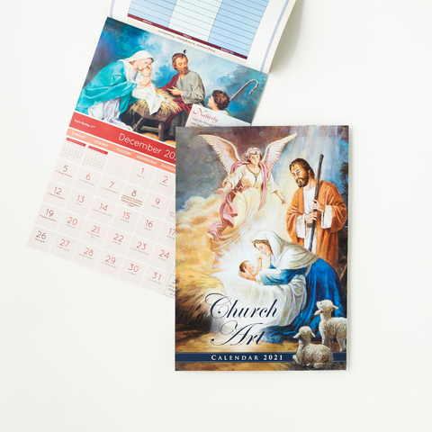 2021 CHURCH ART CALENDAR - S