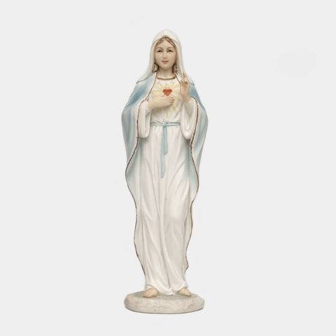 IMMACULATE HEART OF MARY STATUE - 20CM