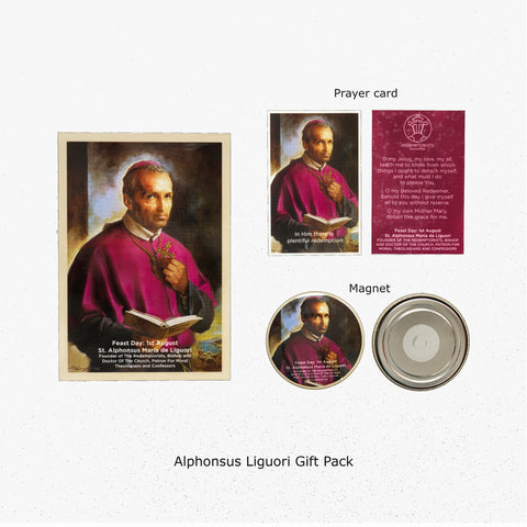 Saint Alphonsus Liguori Prayer Card Novena Church