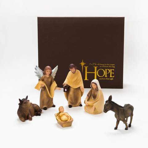 NATIVITY SET - 6 FIGURINES