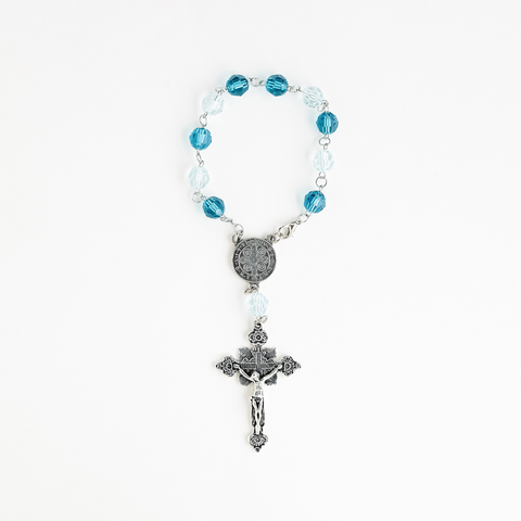 ONE DECADE CRYSTAL ROSARY