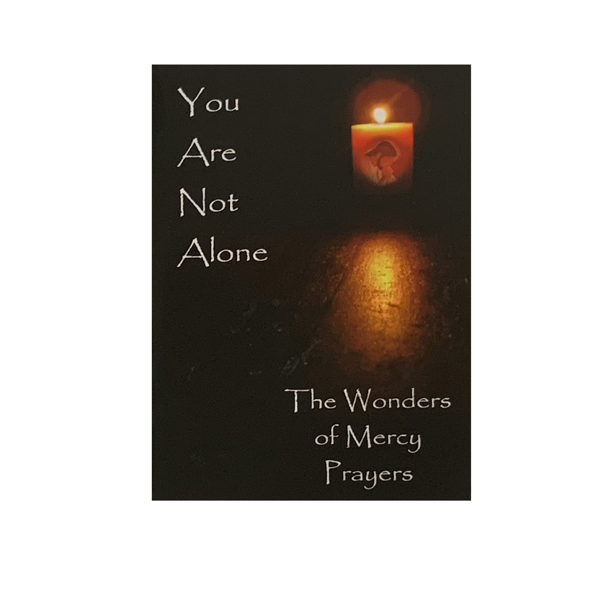 YOU ARE NOT ALONE - THE WONDERS OF MERCY AND PRAYERS