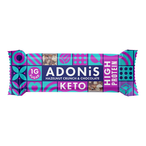 Adonis High Protein Hazelnut 45g    16