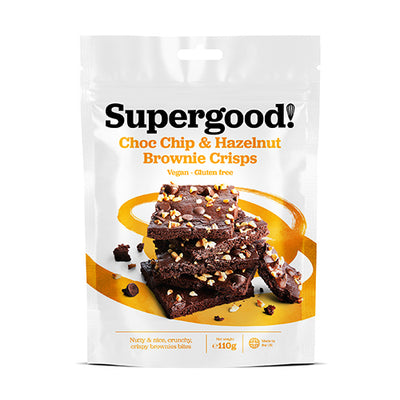 Superfood Bakery Brownie Crisps Choc Chip & Hazelnut 1110g   6