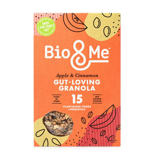 Bio&Me Apple + Cinnamon Gut-Loving Granola 360g   6