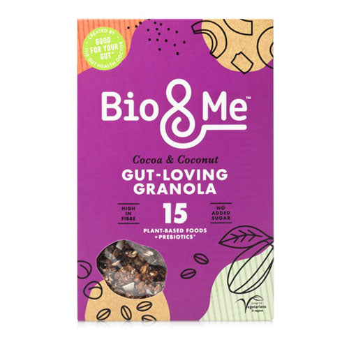 Bio&Me Cocoa + Coconut Gut-Loving Granola 360g   6