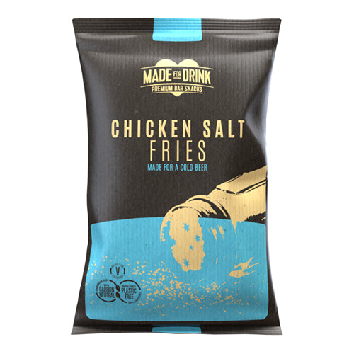 Made For Drink Chicken Salt Fries 150g 6