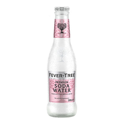 Fever-Tree Soda Water  200ml Case x24    24