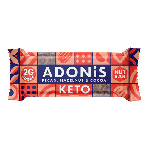 Adonis Natural Low Sugar Pecan Nut Bar 35g   16