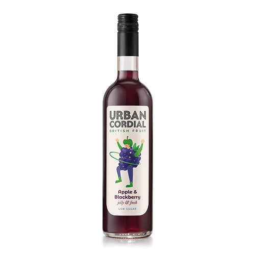The Urban Cordial Company Apple and Blackberry 500ml   6