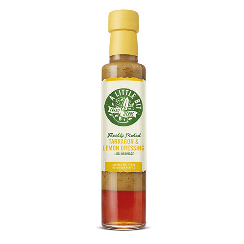 A Little Bit Food Co.Fresh Tarragon & Lemon Dressing 250ml   6
