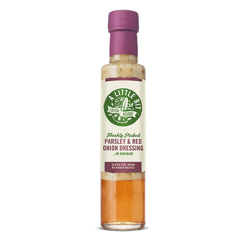 A Little Bit Food Co.Fresh Parsley & Red Onion Dressing 250ml   6